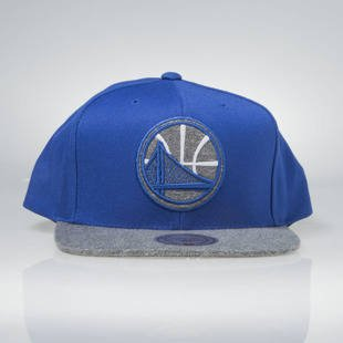 Czapka Mitchell & Ness snapback Golden State Warriors blue EU963 Melange Infill
