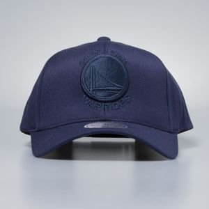Czapka Mitchell & Ness snapback Golden State Warriors navy Flexfit 110