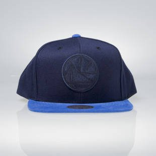 Czapka Mitchell & Ness snapback Golden State Warriors navy / blue EU948 Max