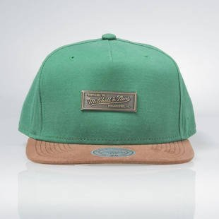 Czapka Mitchell & Ness snapback Logo M&N green EU288 Supply