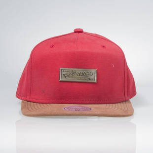 Czapka Mitchell & Ness snapback Logo M&N red EU288 Supply