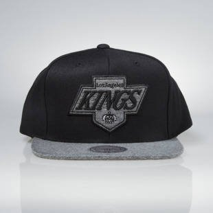 Czapka Mitchell & Ness snapback Los Angeles Kings black EU963 Melange Infill