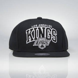 Czapka Mitchell & Ness snapback Los Angeles Kings black EU965 Black and White Arch