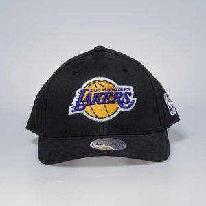 Czapka Mitchell & Ness snapback Los Angeles Lakers black Flexfit 110 Low Pro