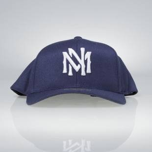 Czapka Mitchell & Ness snapback M&N Logo navy Team Logo High Crown Flexfit 110