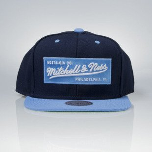 Czapka Mitchell & Ness snapback M&N Own Brand navy / blue Box Logo
