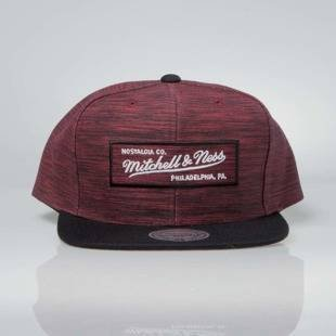 Czapka Mitchell & Ness snapback M&N Own Brand red / black INTL006 Prime Knit