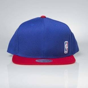 Czapka Mitchell & Ness snapback NBA Logo royal Little Logo