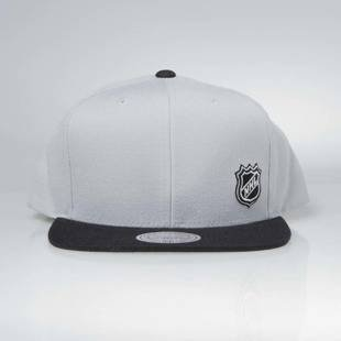Czapka Mitchell & Ness snapback NHL Logo grey Little Logo