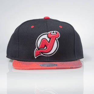 Czapka Mitchell & Ness snapback New Jersey Devils black BRUSH EU149