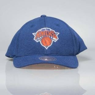 Czapka Mitchell & Ness snapback New York Knicks blue INTL046 Sweat