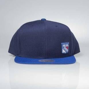 Czapka Mitchell & Ness snapback New York Rangers navy Little Logo