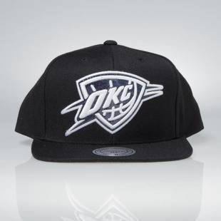 Czapka Mitchell & Ness snapback Oklahoma City Thunder black Dark Hologram
