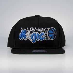 Czapka Mitchell & Ness snapback Orlando Magic black Wool Solid / Solid 2