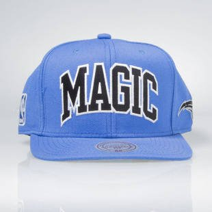 Czapka Mitchell & Ness snapback Orlando Magic blue EU133 Satin Arch