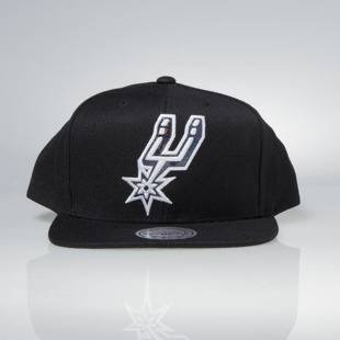 Czapka Mitchell & Ness snapback San Antonio Spurs black Dark Hologram