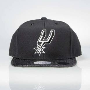 Czapka Mitchell & Ness snapback San Antonio Spurs black INTL042 Ultimate