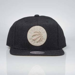 Czapka Mitchell & Ness snapback Toronto Raptors black INTL034 Team Heather