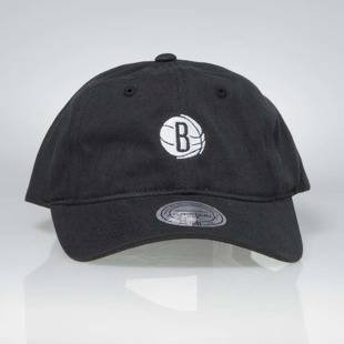Czapka Mitchell & Ness strapback Brooklyn Nets black Chukker