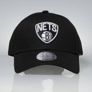 Czapka Mitchell & Ness strapback Brooklyn Nets black Team Logo Low Pro