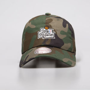 Czapka Mitchell & Ness strapback Game camo HUD012 I Love This Game Low Pro