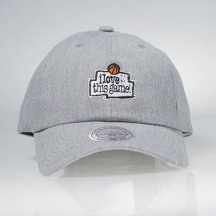 Czapka Mitchell & Ness strapback Game grey HUD012 I Love This Game Low Pro