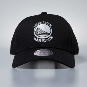Czapka Mitchell & Ness strapback Golden State Warriors black Team Logo Low Pro