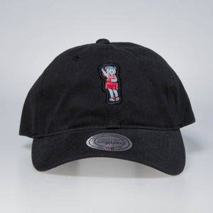 Czapka Mitchell & Ness strapback Houston Rockets black Team Mascot Slouch