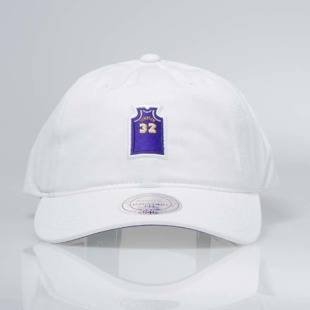 Czapka Mitchell & Ness strapback Los Angeles Lakers - JOHNSON white QD43Z Small Jersey Dad