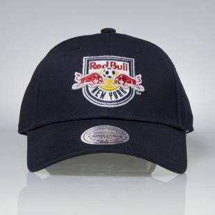 Czapka Mitchell & Ness strapback New York Red Bull navy Team Logo Low Pro