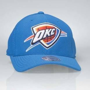 Czapka Mitchell & Ness strapback Oklahoma City Thunder navy Hexagon Jersey Mesh Hook and Loop
