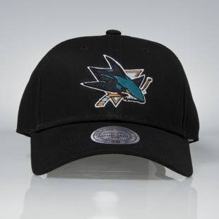 Czapka Mitchell & Ness strapback San Jose Sharks black Team Logo Low Pro