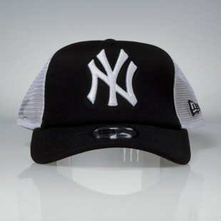 Czapka New Era snapback New York Yankees Clean Trucker Cap black / white