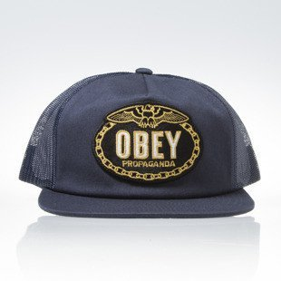 Czapka Obey Chains Trucker navy
