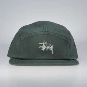 Czapka Stussy 5Panel Basic Logo Camp Cap olive
