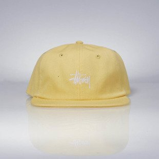 Czapka Stussy Smooth Stock Canvas Strapback Cap.yellow