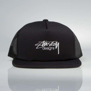 Czapka Stussy  snapback Smooth Stock Trucker Cap black