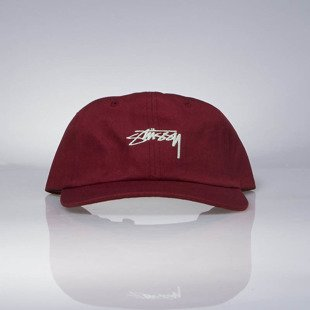 Czapka Stussy strapback Smooth Stock Low Cap red