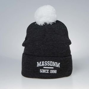Czapka zimowa Mass Denim Campus Beanie dark heather grey