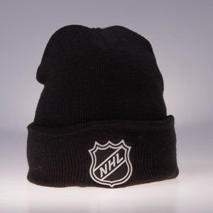 Czapka zimowa Mitchell & Ness NHL Logo black Team Logo Cuff Knit