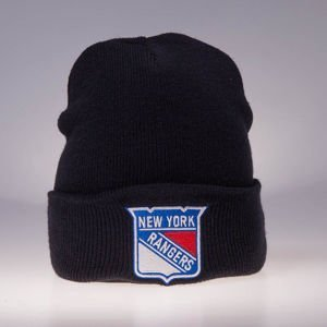 Czapka zimowa Mitchell & Ness New York Rangers navy Team Logo Cuff Knit