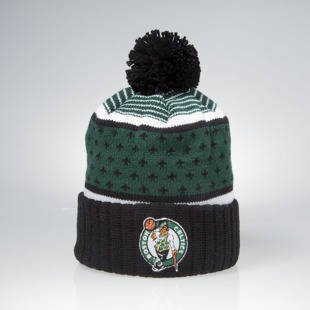 Czapka zimowa Mitchell & Ness winter beanie Boston Celtics black / green KW02Z The Highlands