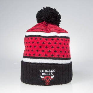 Czapka zimowa Mitchell & Ness winter beanie Chicago Bulls black / red KW02Z The Highlands