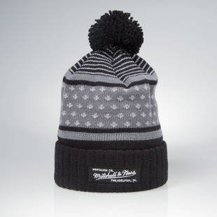 Czapka zimowa Mitchell & Ness winter beanie M&N Logo black KW37Z The Highlands