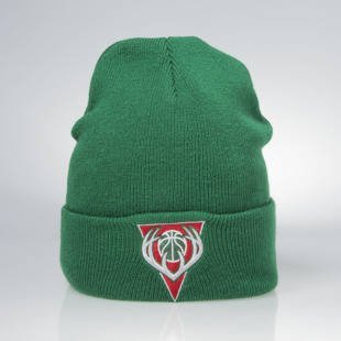 Czapka zimowa Mitchell & Ness winter beanie Milwaukee Bucks green EU175 Team Talk