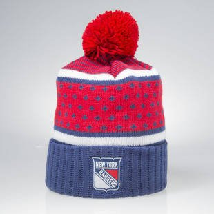 Czapka zimowa Mitchell & Ness winter beanie New York Rangers navy / red KW05Z The Highlands