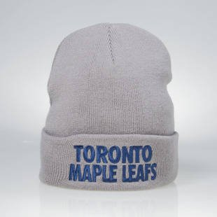 Czapka zimowa Mitchell & Ness winter beanie Toronto Maple Leafs grey EU253 Headline