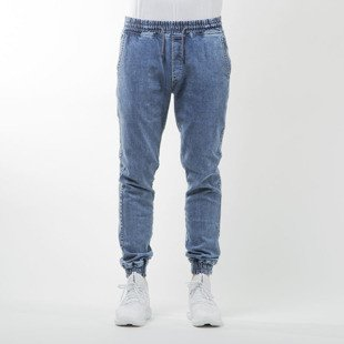 Diamante Wear spodnie Jogger Jeans marble blue