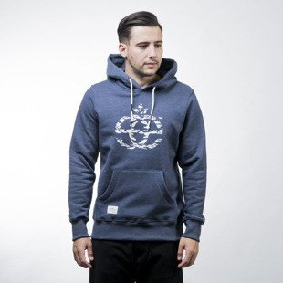 Elade bluza Hoody Icon Decline blue jeans