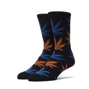 HUF skarpety Plantlife Crew Sock black / blue / orange (SK63021)